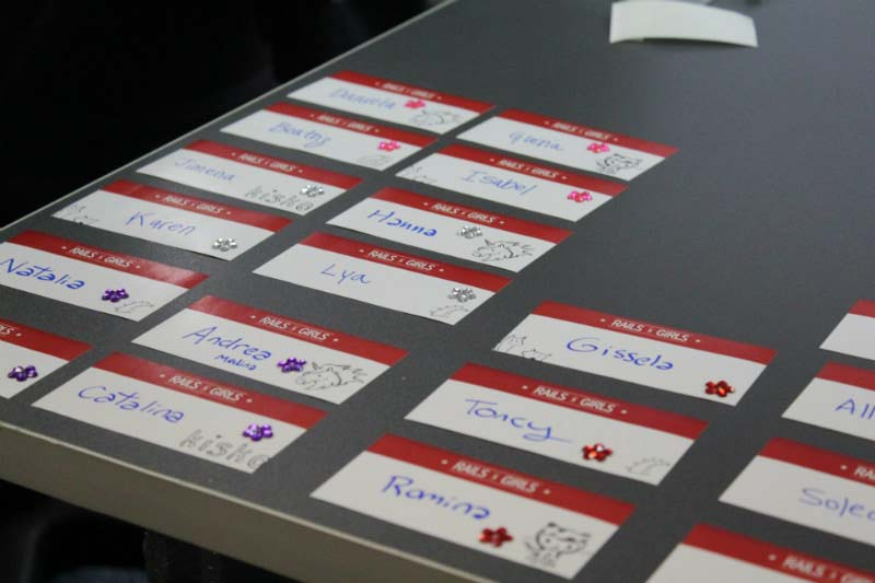 railsgirls stickers
