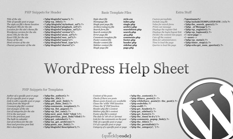 wp sheet