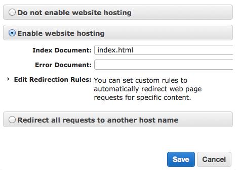 static-website-hosting